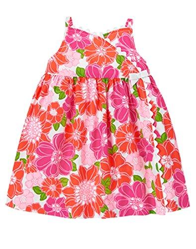 Gymboree Baby Girl Island Floral Wrap Sundress (12/18 (Gymboree Island)