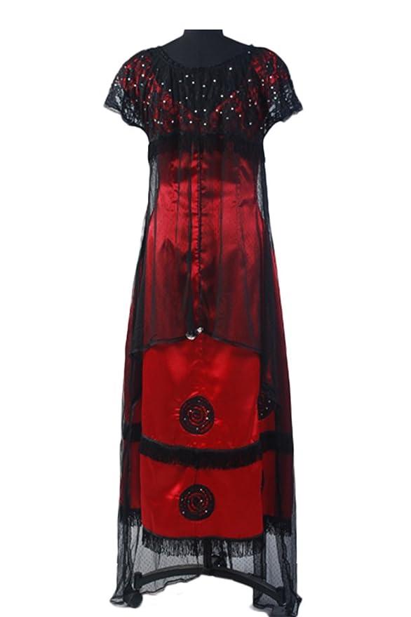 Edwardian Style Dresses Rose Jump Dress Costume Victorian  AT vintagedancer.com