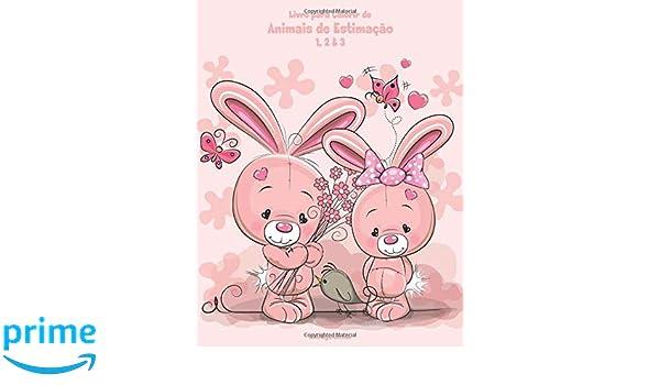 Livro Para Colorir De Animais De Estimacao 1 2 3 Portuguese