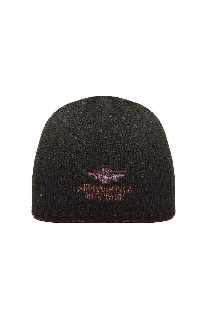Aereonautica Militare Cappello Nero-Rosso Uomo