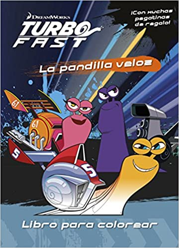 Turbo Fast. Libro para colorear: Dreamworks: 9788408149767: Amazon.com: Books