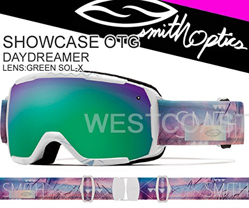 Smith Optics Goggles Showcase OTG GA (White Mosa, - Optics Discount Smith