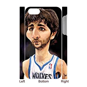 Iphone 4,4S 3D DIY Phone Back Case with Ricky Rubio Image