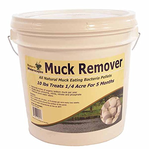Natural Waterscapes Muck Remover Pellets - 10 lbs (Best Vegetation Killer Reviews)