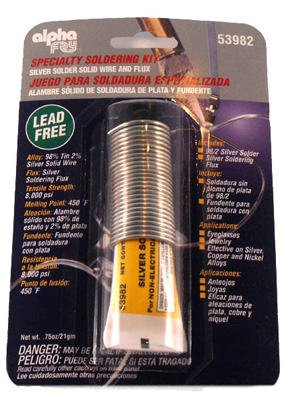 Alpha Fry AM53982 Lead-Free Silver Solder & Flux Kit - - Amazon.com