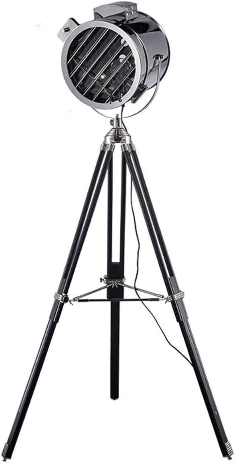 WJIE Lámpara de pie con trípode Vertical/Personalidad/Creatividad ...