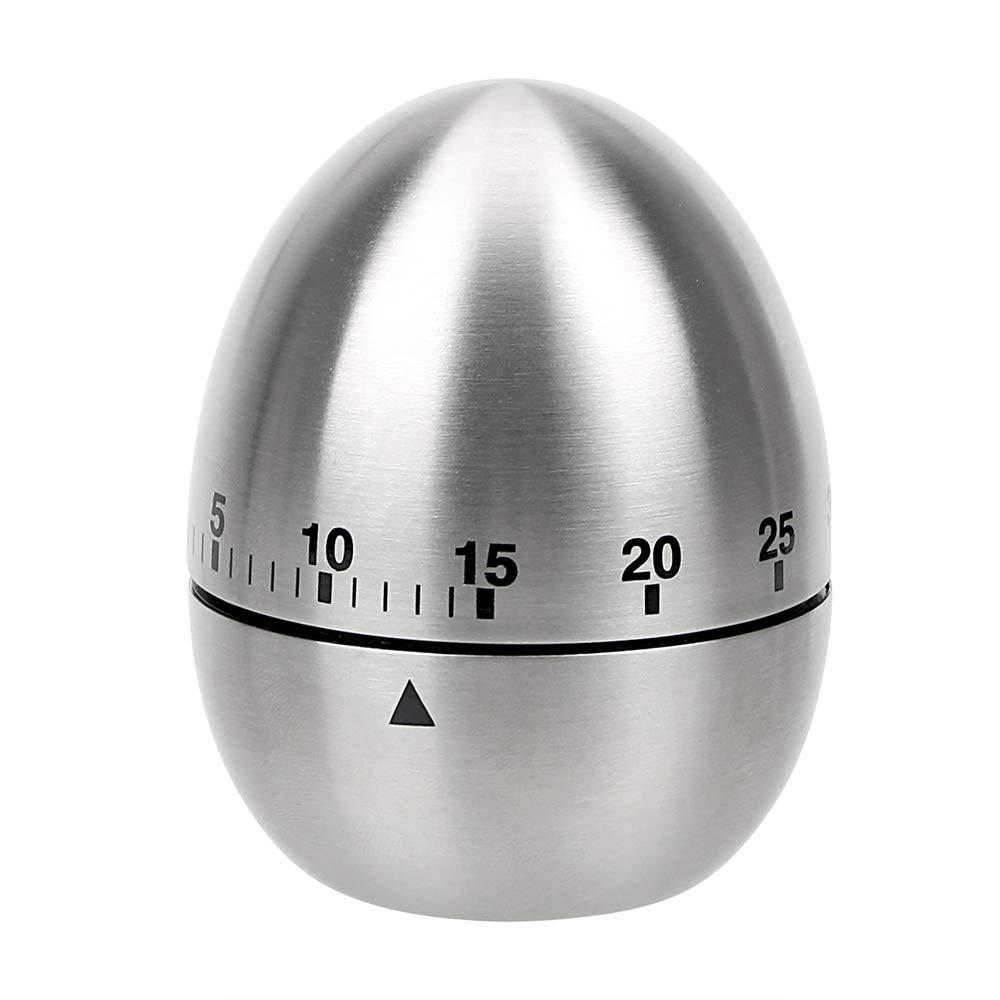 Timer da cucina egg-shape orologio conteggio in acciaio INOX ...