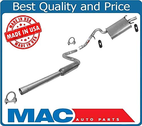 Mac Auto Parts 44758 Stratus Sebring 2.4L 4Dr Frt Rear Muffler Exhaust Pipe System 5B67 1 (Sebring Exhaust System)