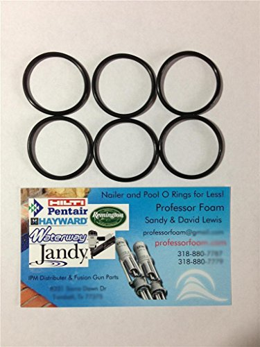 6 Remington O-ring Barrel Seals for Model 1100 12, 16 or 20 Standard Gauge 11-87 12 Ga 16 Ga 20 Ga From Professor Foam