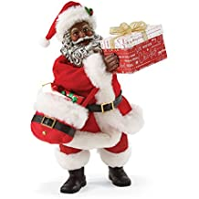 Department 56 Possible Dreams What's In The Box African American Santa