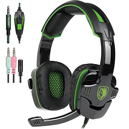Gaming Headset Control Headphones Smartphone