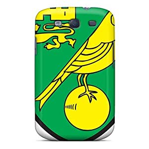 Excellent Galaxy S3 Case Tpu Cover Back Skin Protector Best Football Club Norwich
