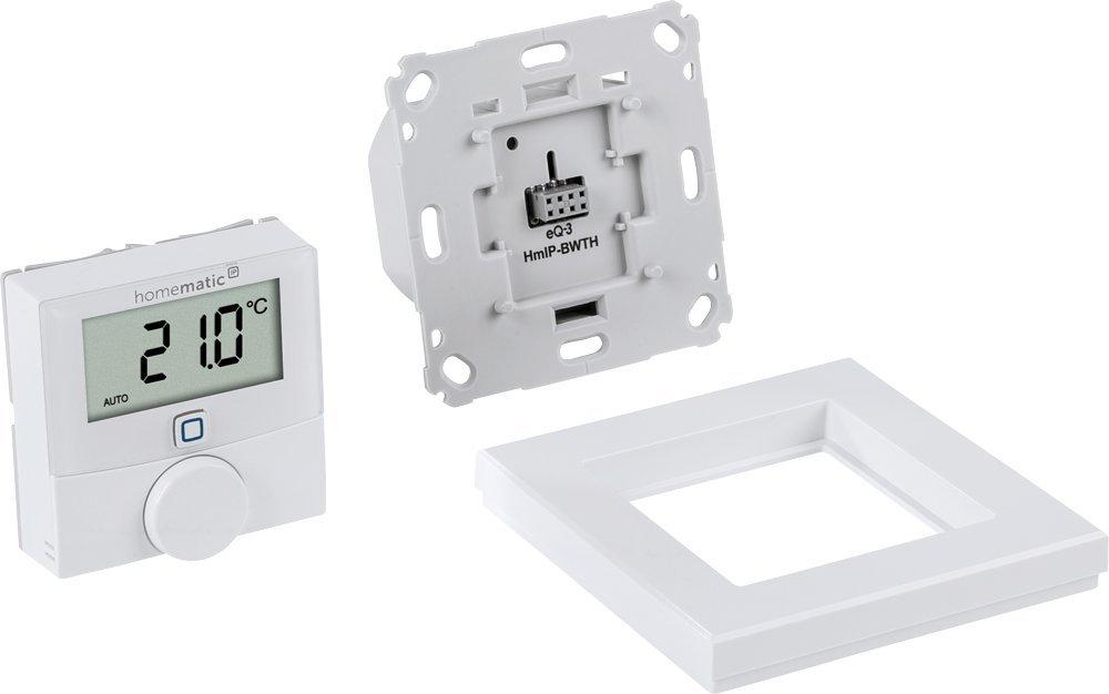 Homematic IP Wandthermostat mit Schaltausgang – für Markenschalter ...