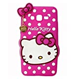 Samsung Galaxy J2-6 (2016 Edition) Back Cover Designer 3d printed Hard Case Cover for Samsung Galaxy J2-6 (2016 Edition) by Anvika - Cat Hello Kitty Theme girl girly.(pink)