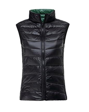 Kasen Donna Reversibile Packable Giacche Piumino Senza Maniche Cappotto  Invernali Caldo Parka  Amazon.it  Abbigliamento 29313a36e90