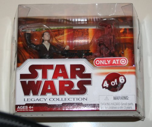 Star Wars Legacy Collection Geonosis Arena Showdown - Joclad Danva and Battle Droid