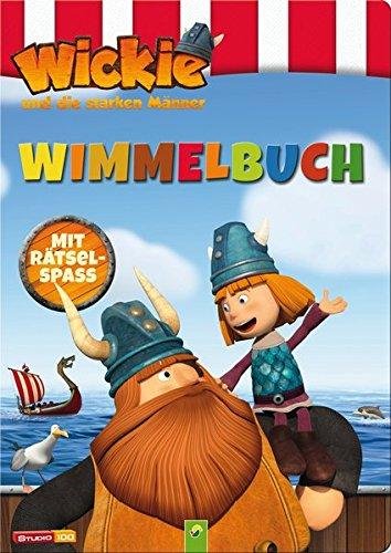 Wimmelbuch Wickie und die starken Männer: Mit Rätselspaß