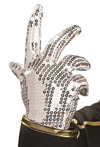 Rubies Michael Jackson King of Pop Sequined Glove (Michael Jackson Adult Costumes)