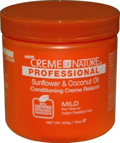Cream of Nature Organic No Base Relaxer 15 oz. - Mild 15 oz. (Pack of 2)
