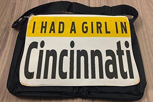 Borsa Tracolla Viaggi Cucina Cincinnati USA Stampato