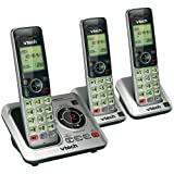 VTECH VTCS6629-3 DECT 6.0 Expandable Speakerphone with Caller ID (3-Handset System) electronic consumer
