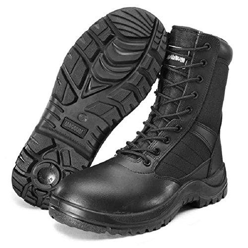 Amphibiens Magnum Centurion Bottines Militaires Bottes En Cuir Noir Chaussures Originales