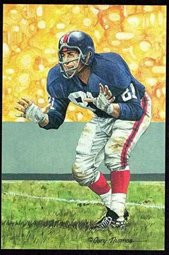 Andy Robustelli Goal Line Art Card New York Giants Series Five - 1993