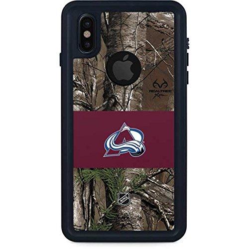 (Colorado Avalanche iPhone X Case - Colorado Avalanche Realtree Xtra Camo   NHL X Skinit Waterproof Case)