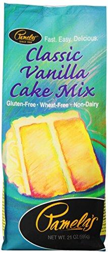 (Pamelas Classic Vanilla Cake Mix, 21 oz)