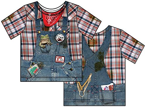 [Faux Real Toddler Hillbilly Costume T-shirt (2T)] (Hillbilly Kids Costume)