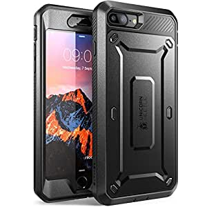 Supcase Unicorn Beetle PRO Series Full-body Rugged Holster Case with Built-in Screen Protector for Apple iPhone 7 Plus - Black/Black