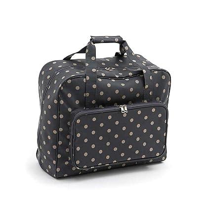 Amazon.com: Hobby Gift Charcoal Polka Dot Sewing Machine ...