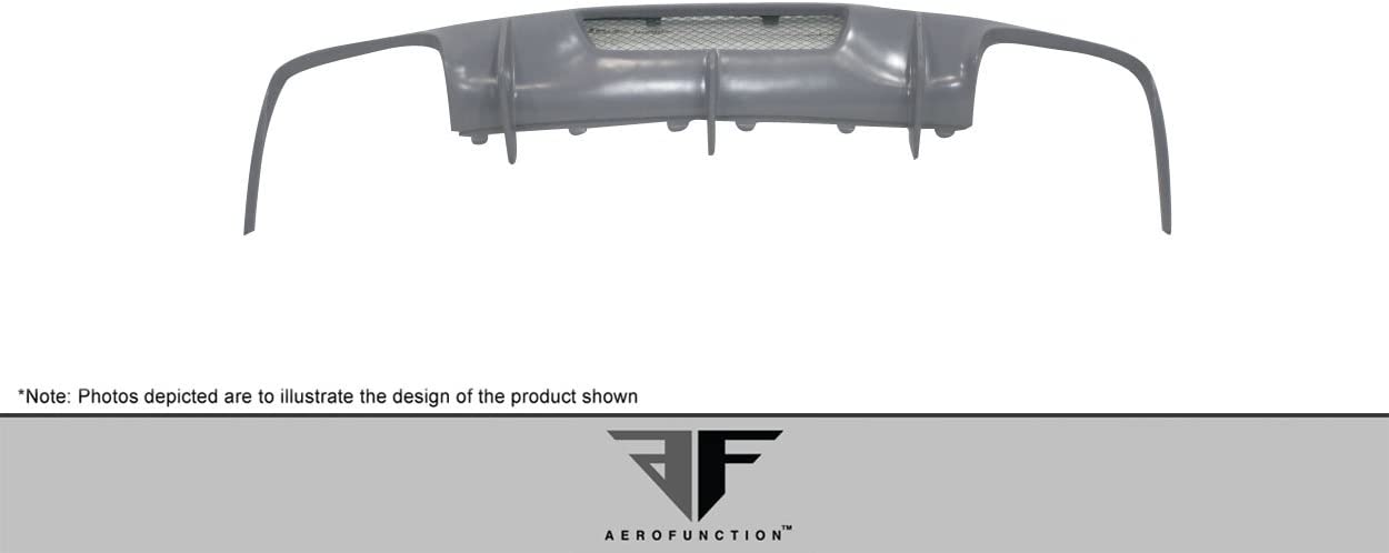 1 Piece Body Kit Brightt Aero Function ED-QZL-366 AF-1 Rear Diffuser GFK Compatible With CLS 2012-2018
