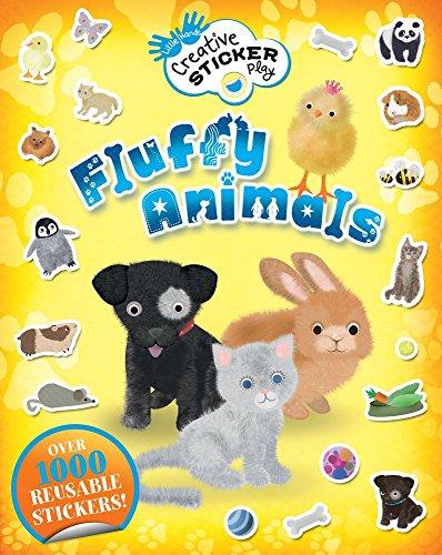 Fluffy Animals: Over 1000 Reusable Stickers! (Little Hands Creative Sticker Play)