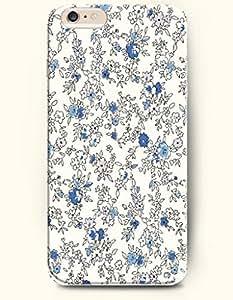 iPhone 6 Plus Case 5.5 Inches Wild Flowers - Hard Back Plastic Case OOFIT Authentic