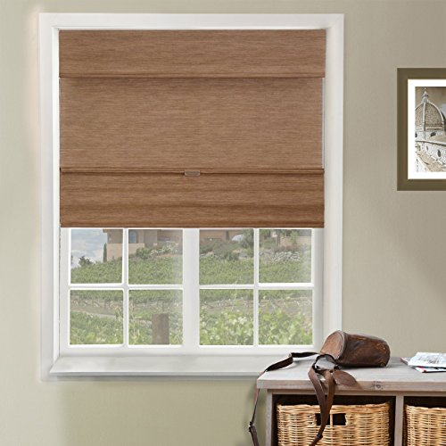 (Chicology Cordless Magnetic Roman Shades / Window Blind Fabric Curtain Drape)