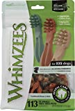 Whimzees WHZ300 113 Count Toothbrush Star Value Bag Doggie Dental Chews, XX-Small 12.7oz