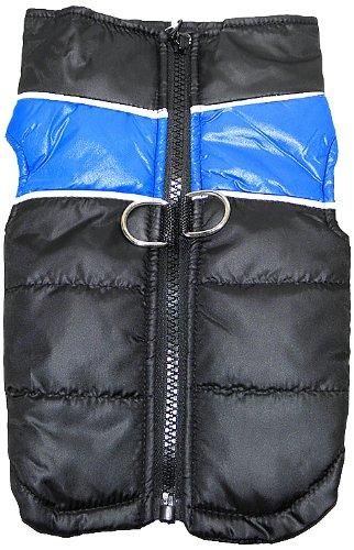 Platinum Pets Reflective Winter Vest, Medium, Blue, My Pet Supplies