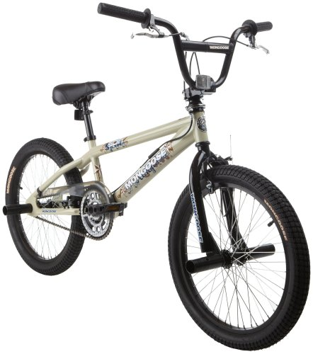 Com Mongoose Spin Bmx Freestyle Bike 20 Inch Wheels Childrens Bicycles Sports Outdoors