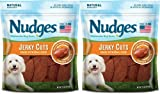 Cheap 2 Pack of Nudges Duck Jerky Dog Treats, 18 oz