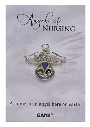 Ganz Angel of Nursing Tac Pin with Story ()