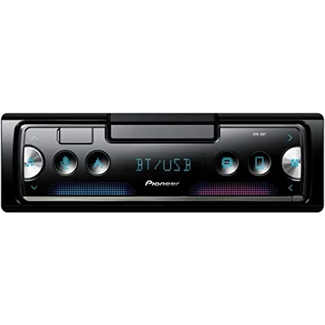 Pioneer SPH-10BT 1-DIN Car In-Dash Bluetooth Digital Media Smartphone Receiver