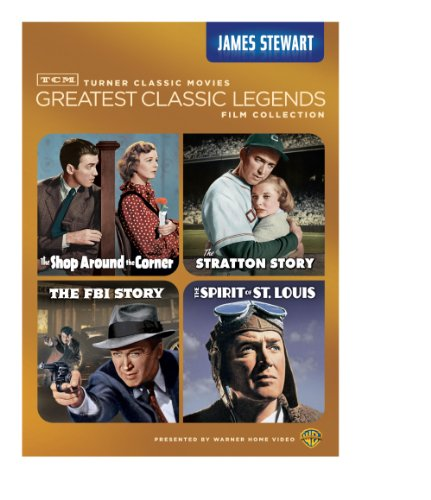 TCM Greatest Classic Legends: James Stewart (The Shop Around the Corner / The Stratton Story / The FBI Story / The Spirit of St. - Louis Shop
