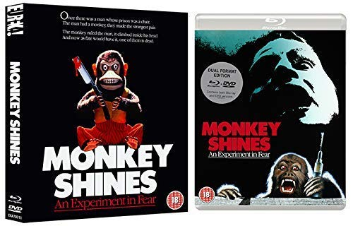 Monkey Shines (Eureka Classics) Limited Dual Format (Blu-ray & DVD) edition