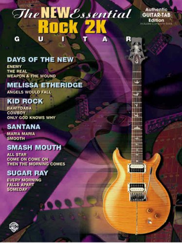 The New Essential Rock 2K Guitar: Authentic Guitar TAB (The Essential Guitar Series)