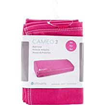 Silhouette Of America Cover-CAM3-Pnk Silhouette Cameo 3 Dust Cover-Pink