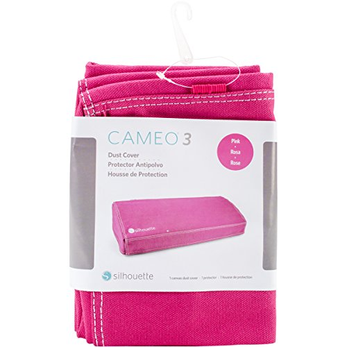 Silhouette America COVER-CAM3-PNK Silhouette Cameo 3 Dust Cover-Pink,