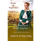 The Rancher's Bride Surprise (Christian Historical Western Romance) (Brides of Inspiration series Book 4)
