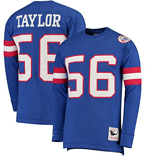1986 Lawrence Taylor New York Giants Mitchell & Ness Jersey Inspired Knit Top Men's (Medium)