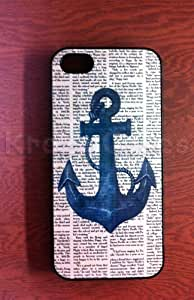 Case Cover For Apple Iphone 5C Nautical Anchor with dictionary art Case Cover For Apple Iphone 5C case, Case Cover For Apple Iphone 5C Case Cover For Apple Iphone 5C Cute Iphone 5/5S